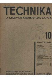 Technika 10. - Régikönyvek