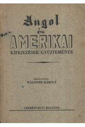 Angol és amerikai kifejezések gyűjteménye - Régikönyvek