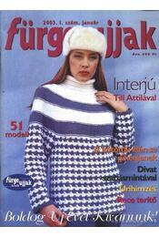 Fürge ujjak 2003. 1. szám január - Régikönyvek