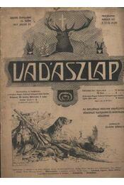 Vadászlap 1917. július 25. - Régikönyvek