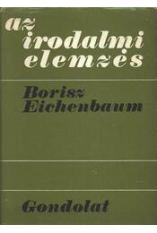 Az irodalmi elemzés - Régikönyvek