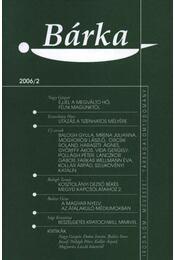 Bárka 2006/2 - Régikönyvek