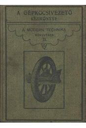 A gépkocsivezető kézikönyve - Régikönyvek