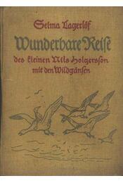 Wunderbare Reife des Eleinen Nils Holgersson mit den Wildgansen - Régikönyvek