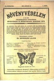 Növényvédelem 1931. április 4. szám - Régikönyvek