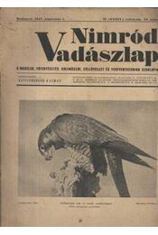 Nimród Vadászlap 1947. aug. 1. - Régikönyvek