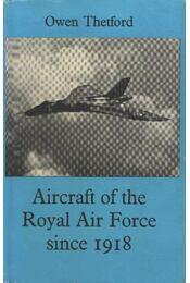 Aircraft of the Royal Air Force since 1918 - Régikönyvek