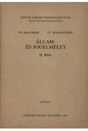 Állam- és jogelmélet II. - Régikönyvek