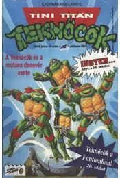 Tini Titán Teknőcök 1992/5. június 11. szám - Régikönyvek