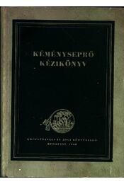 Kéményseprő kézikönyv - Régikönyvek