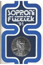 Soproni Füzetek '91 (dedikált) - Régikönyvek