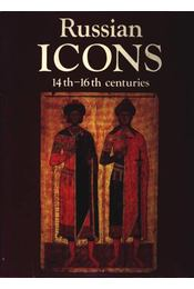 Russian Icons 14th-16th centuries - Régikönyvek