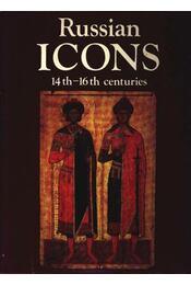 Russian Icons 14th-16th centuries - Régikönyvek