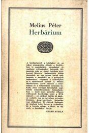 Herbárium - Régikönyvek