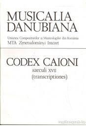 Codex Caioni saeculi XVII - Régikönyvek