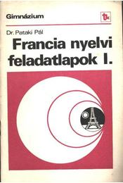Francia nyelvi feladatlapok I - Régikönyvek