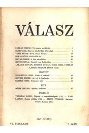 Válasz 1947. július VII. évfolyam 7. szám - Régikönyvek
