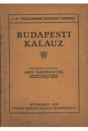 Budapesti kalauz - Régikönyvek