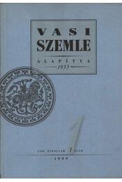 Vasi Szemle 1999/1. LIII. évfolyam - Régikönyvek
