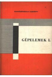 Gépelemek I. - Régikönyvek