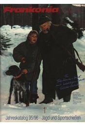 Frankonia Jagd Jahreskatalog 1995/96./1. - Régikönyvek
