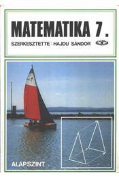 Matematika 7. - alapszint - Régikönyvek