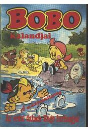 Bobo kalandjai -A műugróverseny-Az erdei dalnok Hugo furfangjai - Régikönyvek