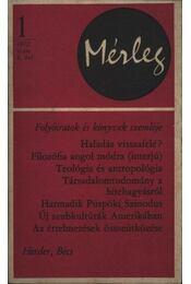 Mérleg 1972/1 - Régikönyvek