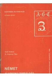 Német alapfokú társalgás - Régikönyvek