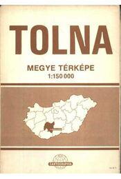 Tolna megye térképe - Régikönyvek