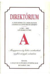 Direktórium - Régikönyvek