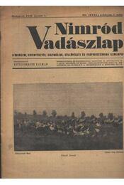 Nimród Vadászlap 1948. jan. 1. - Régikönyvek