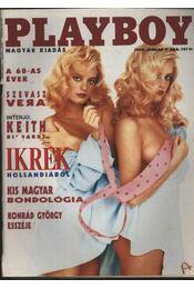 Playboy 1990 január - Régikönyvek