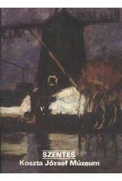 Szentes - Koszta József Múzeum - Régikönyvek