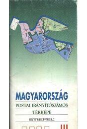 Magyarország postai irányítószámos térképe - Régikönyvek