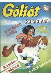 Góliát kalandjai 14. (A világító lovas; A gumibalta; A medvevadászat; Góliát játékai) - Régikönyvek