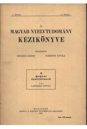 atirni - A magyar nyelvjárások - Régikönyvek