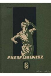 Asztalitenisz - Régikönyvek