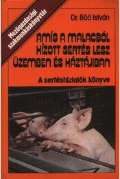 Amíg a malacból hízott sertés lesz üzemben és háztájban - Régikönyvek
