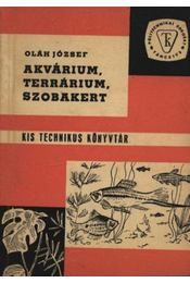 Akvárium, terrárium, szobakert - Régikönyvek