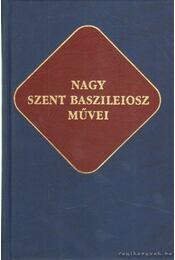 Nagy Szent Baszileiosz művei - Régikönyvek
