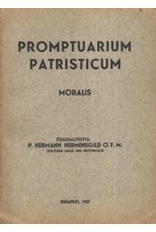 Promptuarium patristicum Moralis - Régikönyvek
