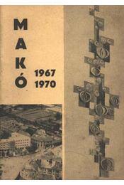 Makó 1967-1970. - Régikönyvek