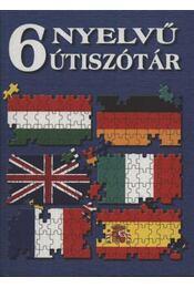 6 nyelvű útiszótár - Régikönyvek