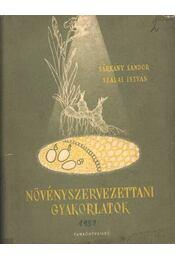 Növényszervezettani gyakorlatok - Régikönyvek