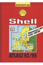 Shell atlasz 92/93 - Régikönyvek
