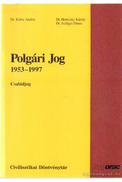 Polgári jog 1953-1997 - Régikönyvek