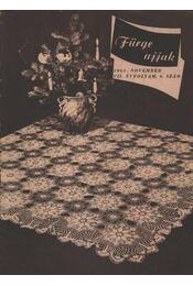Fürge Ujjak 1963. VII. évfolyam (Hiányos) - Régikönyvek