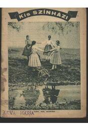 Kis Szinházi Élet 1936. 30. szám - Régikönyvek
