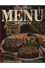 Das Grosse Menú Kochbuch - Régikönyvek